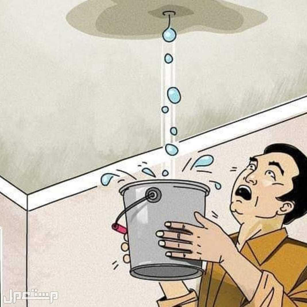 كشف تسربات المياه / عوازل /عزل فوم