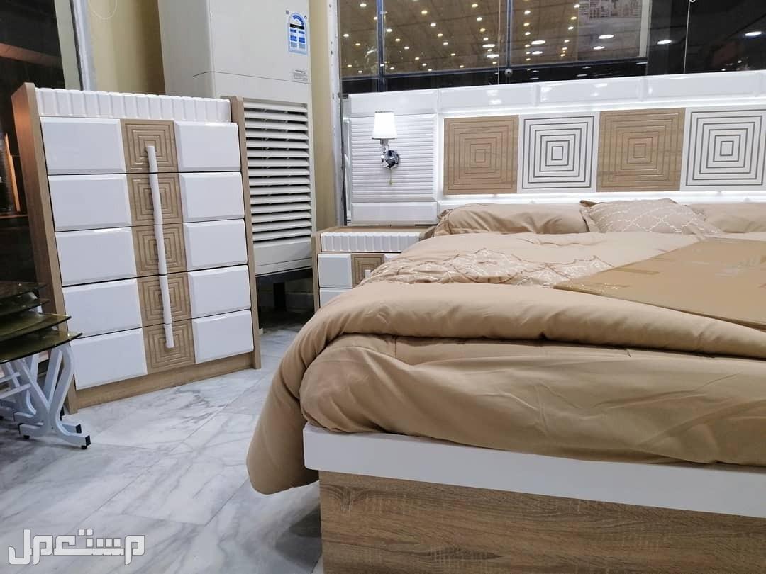 غرف نوم مودرن موديل جديد 7 قطع مع مرتبة هدية
