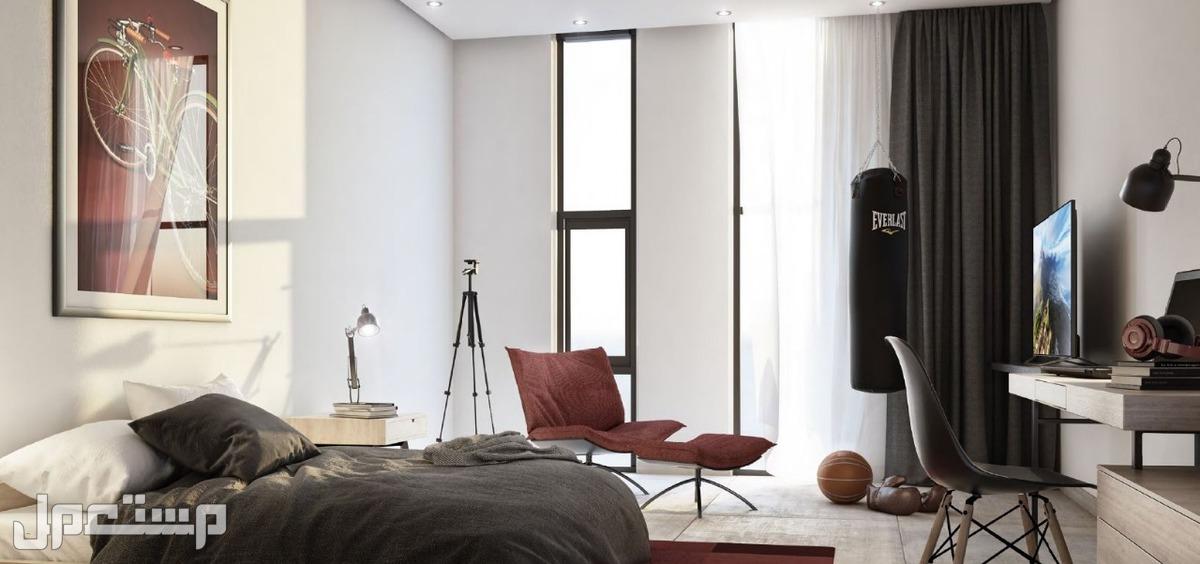 تملك الان شقة غرفة وصالة فى الجادة داون تاون الشارقة الجديد