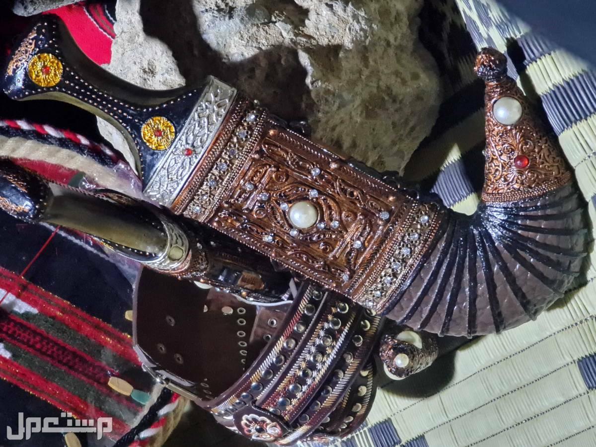 تراث وحجر وفخار خنجر ديكور للمكاتب 170