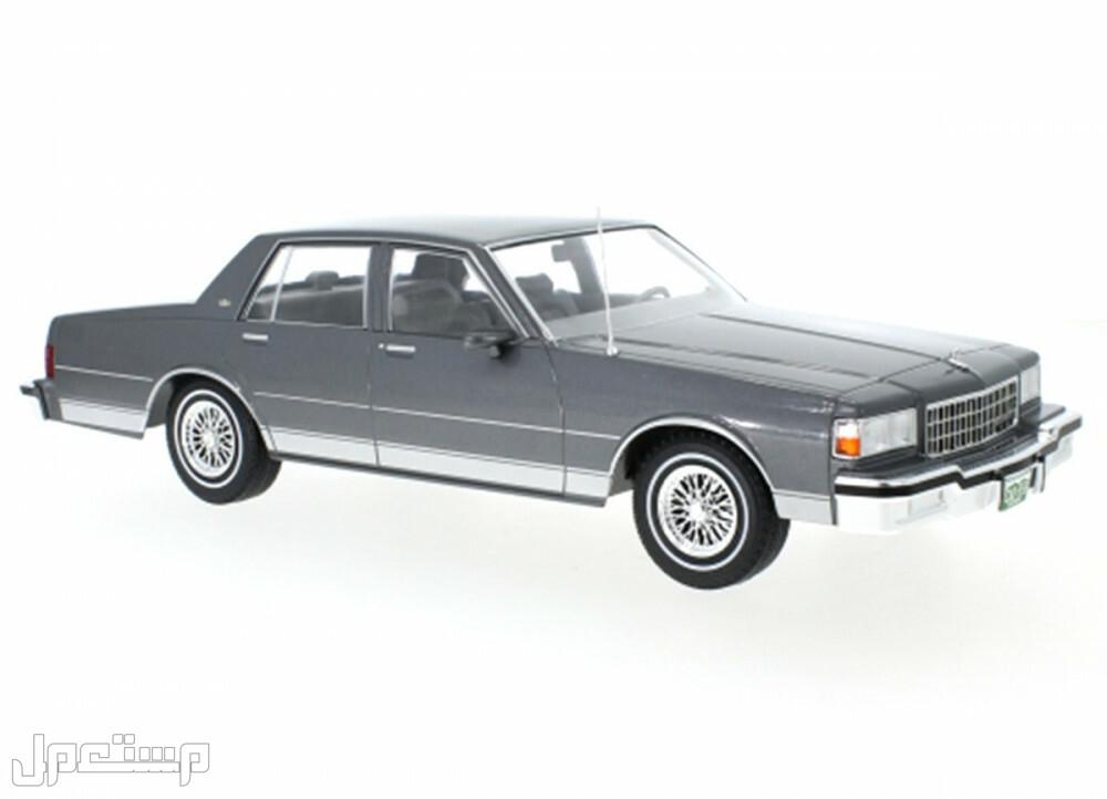مجسم سيارة شفرولية كابرس كلاسيكي موديل 1987