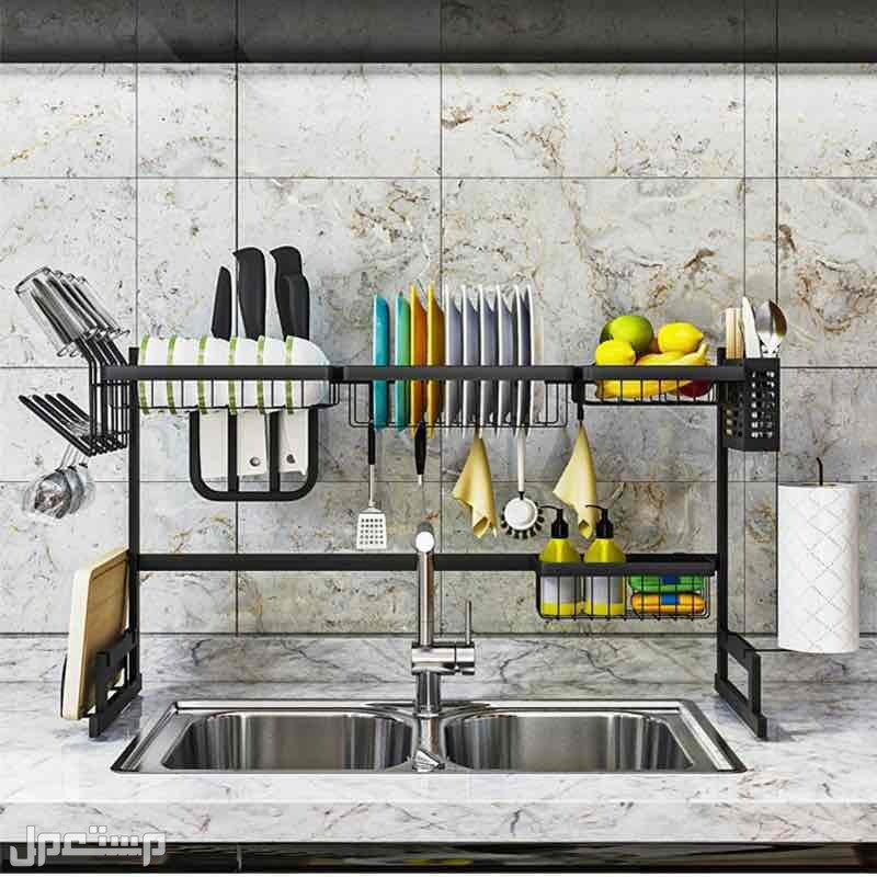 رف لتنظيم ادوات المطبخ
