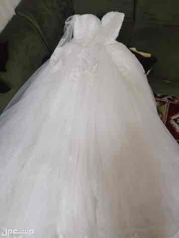 فستان زواج لبس 4 ساعات