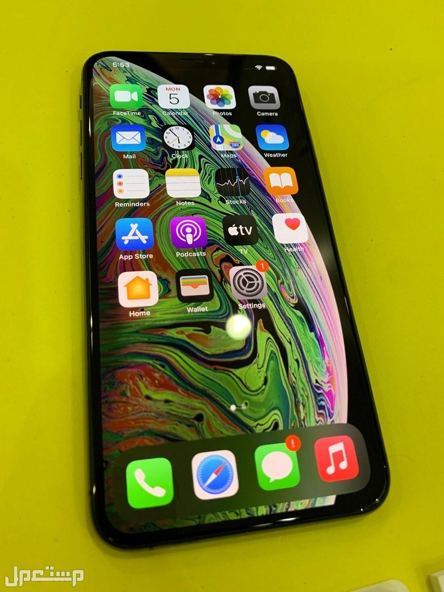 أيفون iPhone XS Max سعة 256 جيجا لون أسود