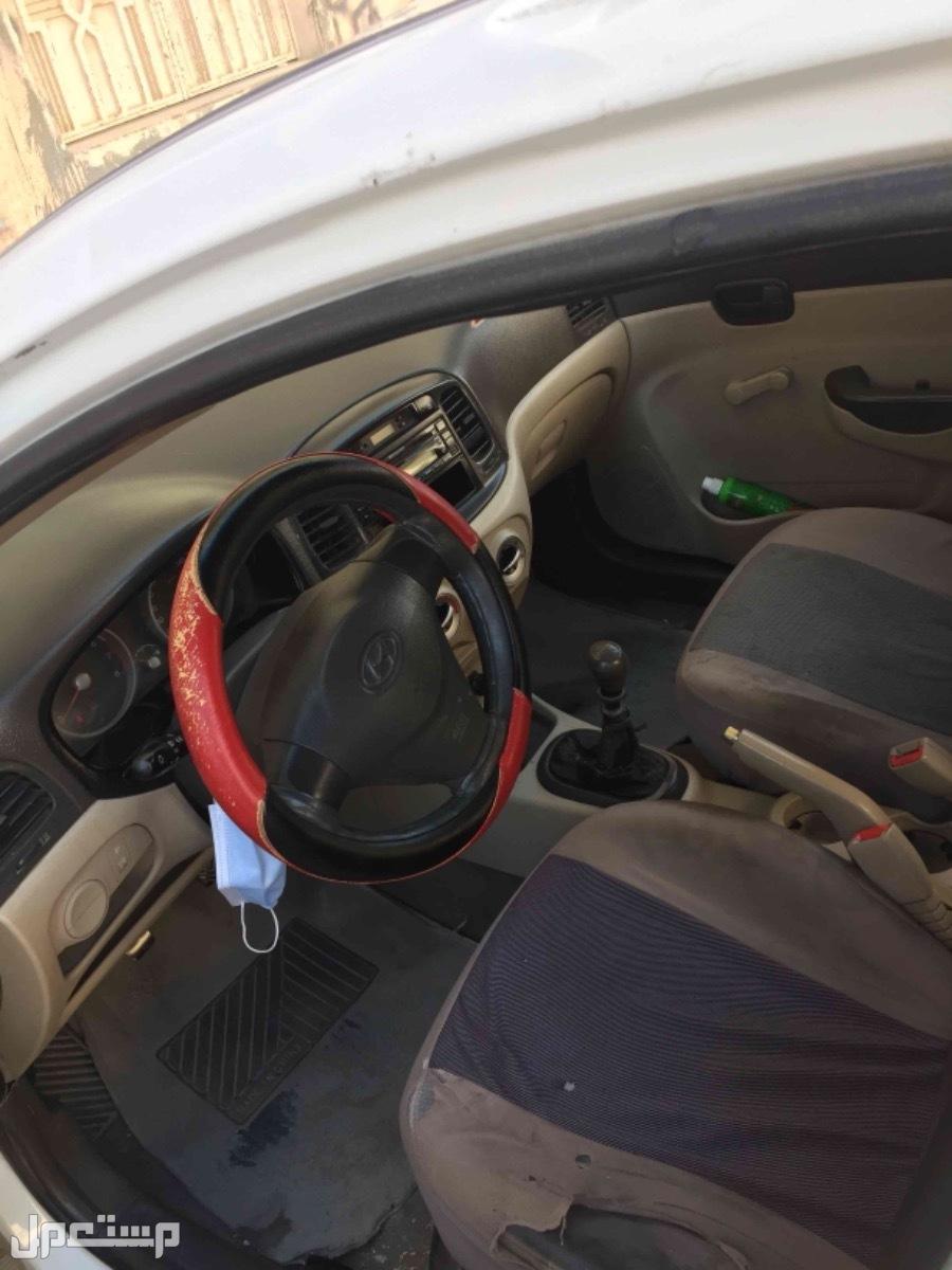 هيونداي اكسنت 2011 مستعملة للبيع