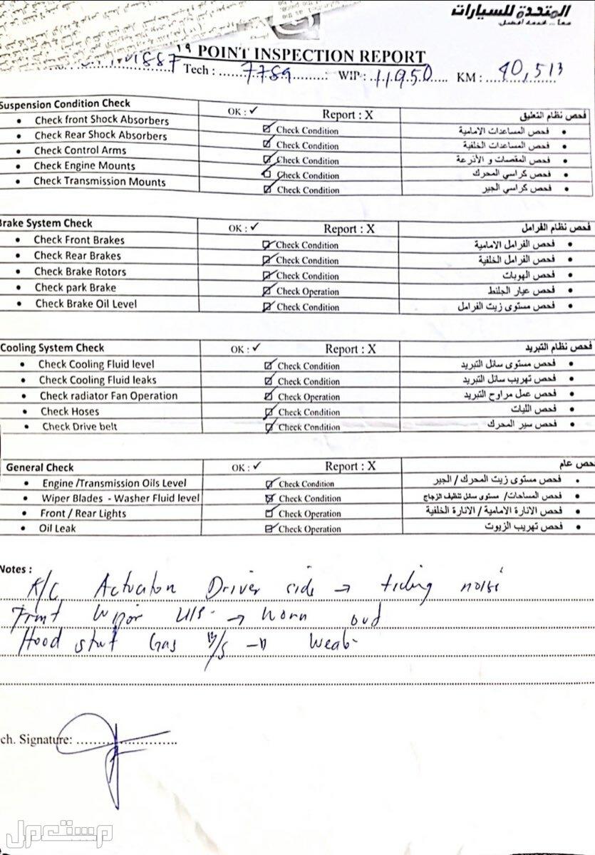 دودج تشارجر 2012 مستعملة للبيع تقرير الوكاله