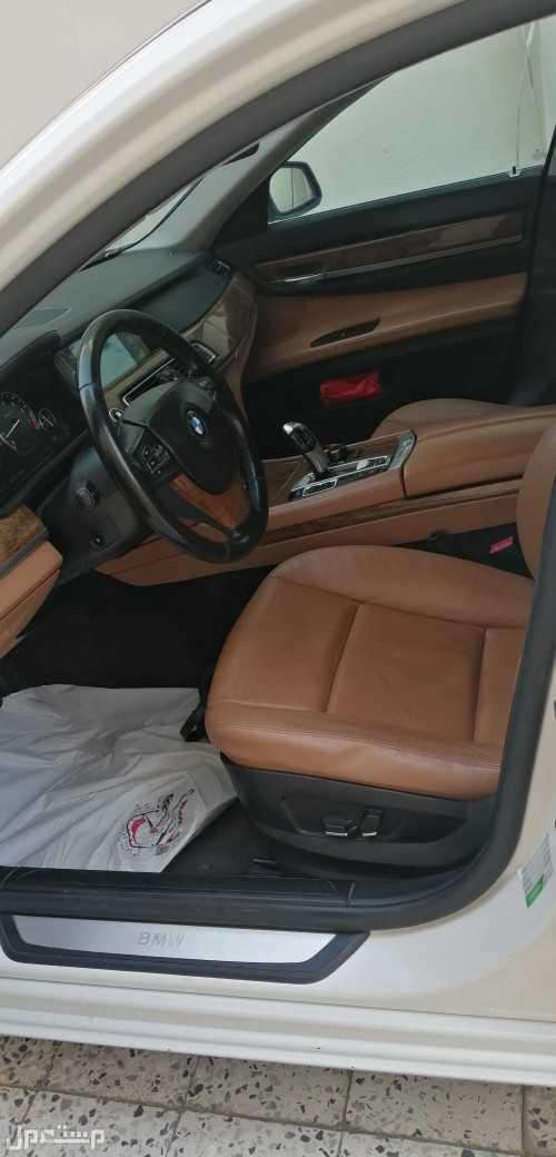 بي ام دبليو الفئة السابعة 2011 مستعملة للبيع