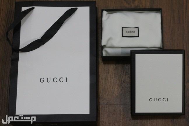 محفظة gucci الجديدة
