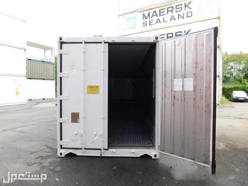 #حاويات مبردة 20 و 40 قدم بحالة نظيفة للبيع بأسعار تنافسية