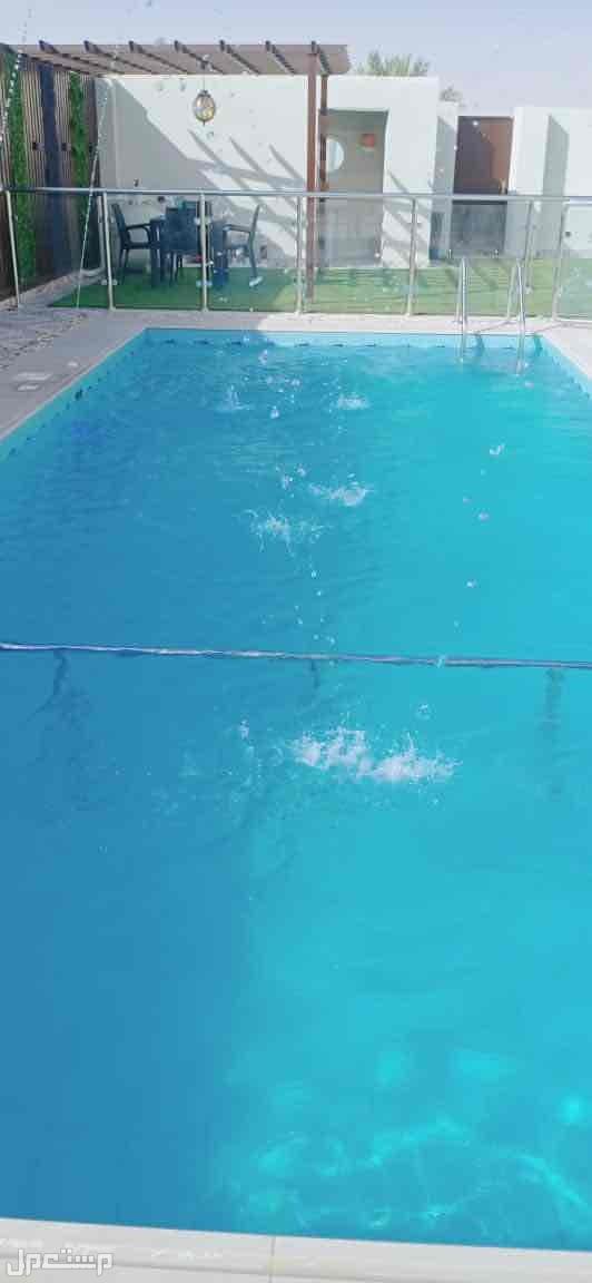 مسبح نيوم للايجار بالساعه