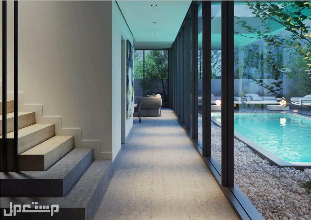 فيلا 4 غرف مع مسبح خاص بكامل الخصوصية فى الشارقة