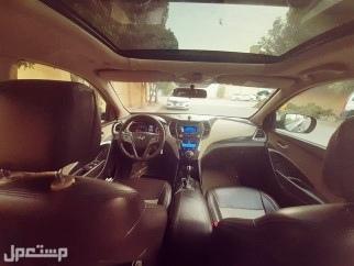 السيارة : هيونداي سنتافي نص فل 2014