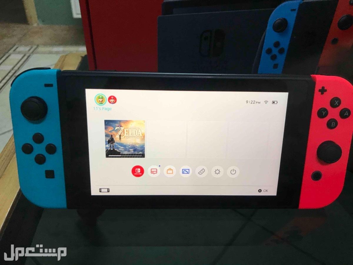 نينتندو سويتش النسخة الجديدة nintendo switch