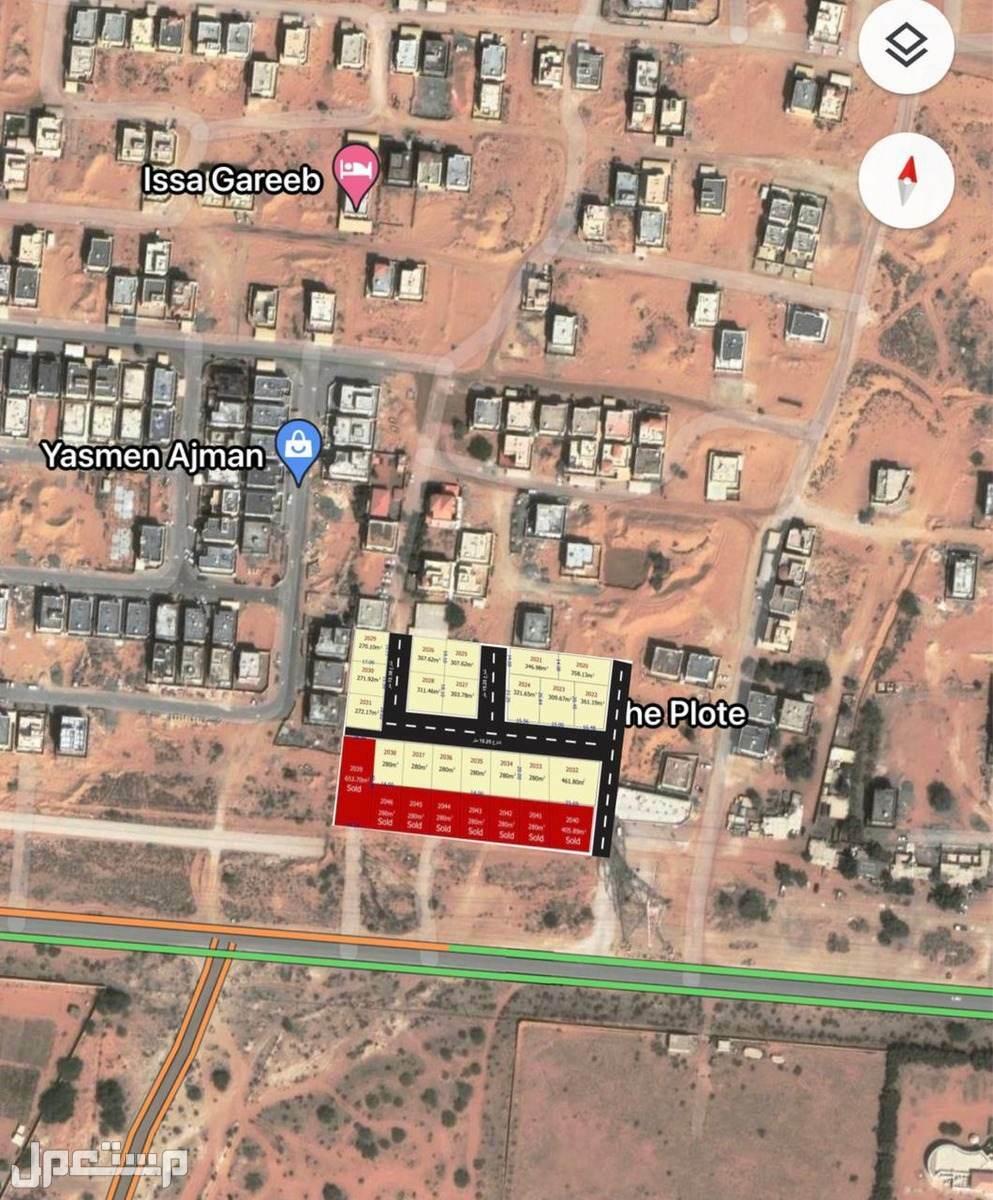 أراضي سكنية للبيع بمخطط العربية 4 بحي الياسمين بعجمان