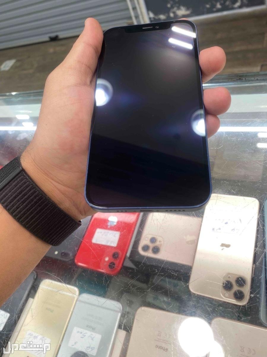 للبيع ايفون 12 ازرق 128 مستخدم
