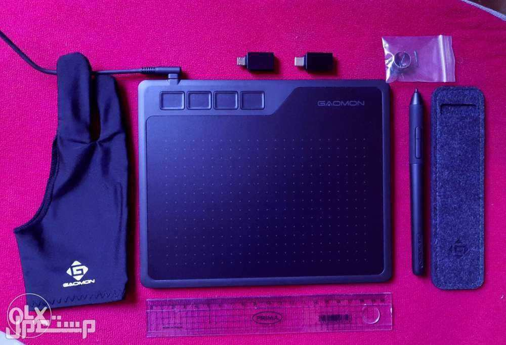 الرسم على الكمبيوتر وجميع الأجهزة الاخرى  Gaomon S620