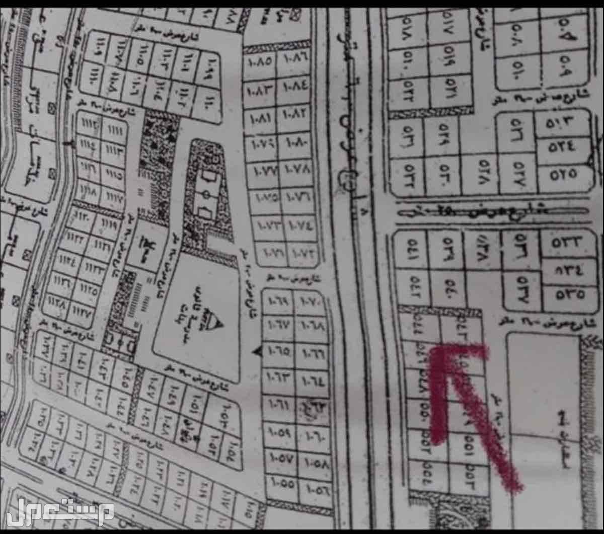 فرصة العمر أرخص أرض تجارية في جده شارع 60 متر 350 ألف