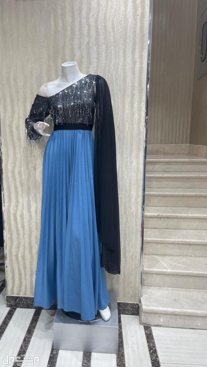 جديد فستان كريب طويل