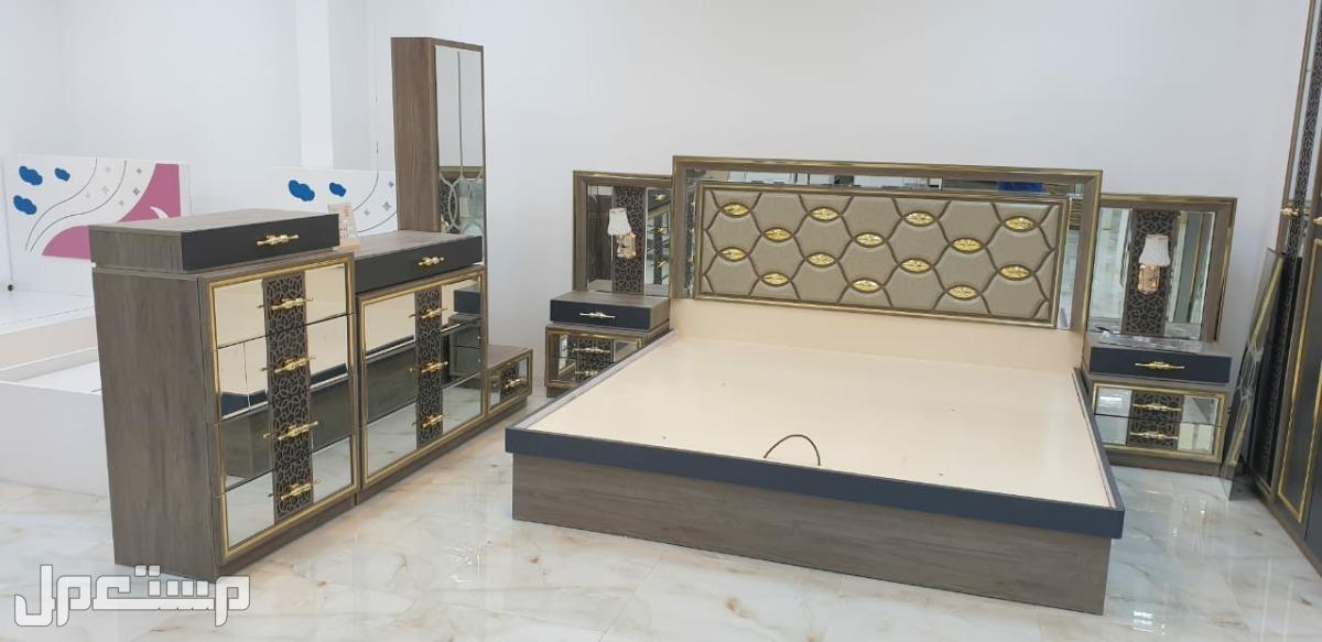 غرفه نوم فخمة موديل جديد مع ضمان 3 سنوات