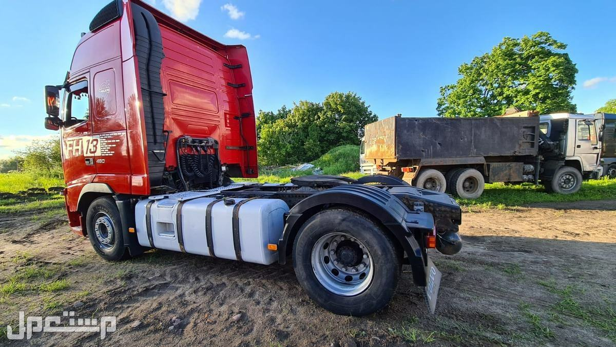استيراد شاحنة فولفو موديل 2011 - 2012 من المانيا