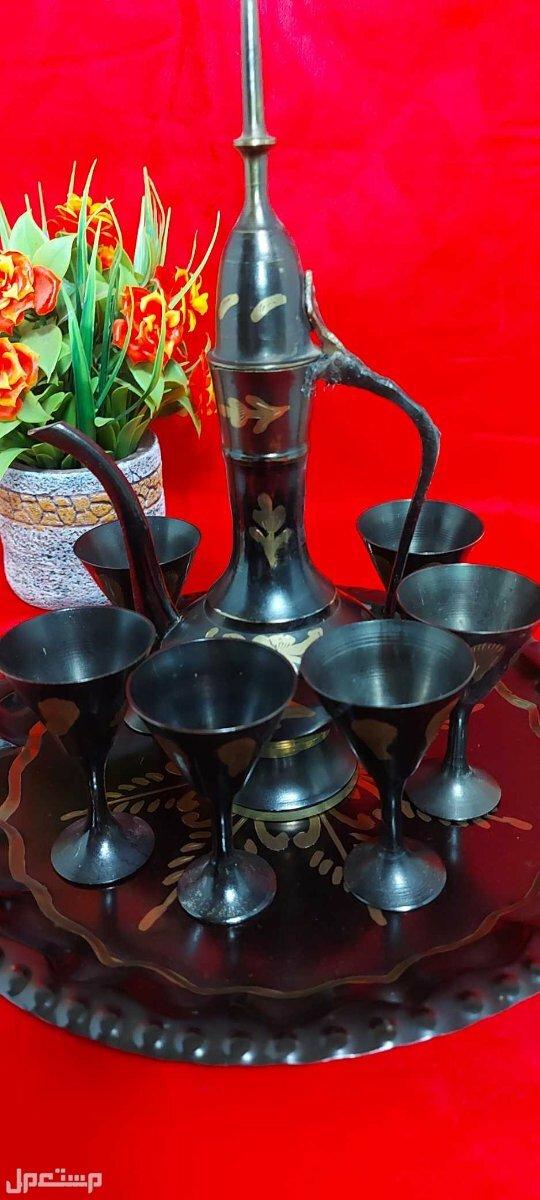 طقم شاي انتيك هندي فاخر جميلة ومميزة اقتناء او اهداء