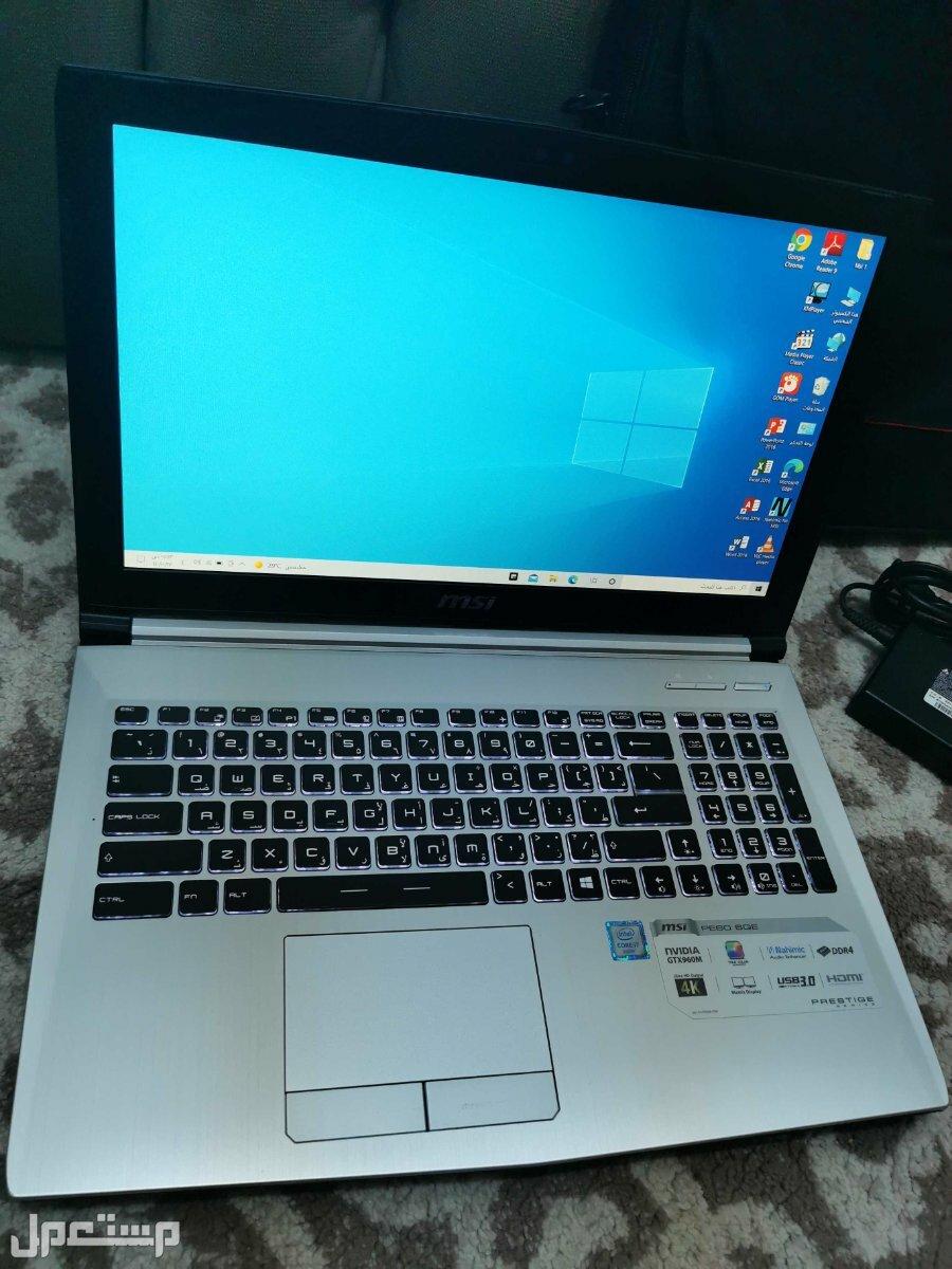 لاب توب Msi i7 جمينج اصدار خاص FHD هاردسكين SSD-HDD للبيع