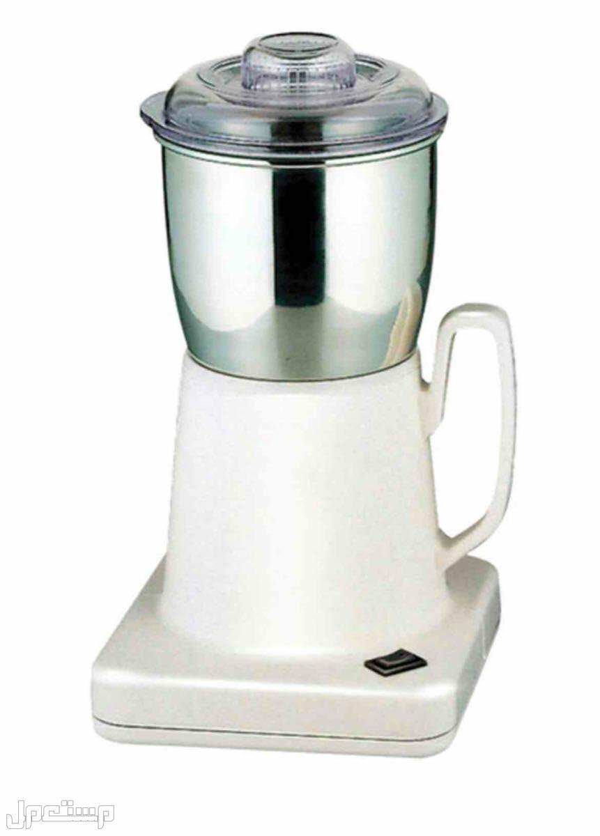 مطحنة قهوة بوعاء من الإستانلس ستيل سعة 0.7 لتر السيف