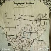 للبييع أرض بمخطط 2/115 درة الخليج مساحة الأرض 935م شارع 40شمال