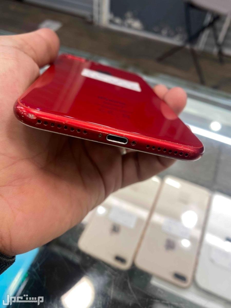 للبيع ايفون 8 بلس 256 احمر مستخدم