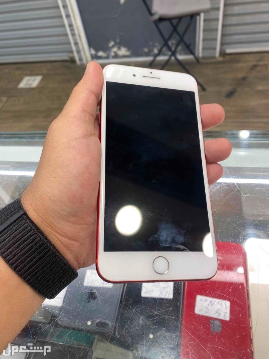 للبيع ايفون 7 بلس 128 احمر مستخدم