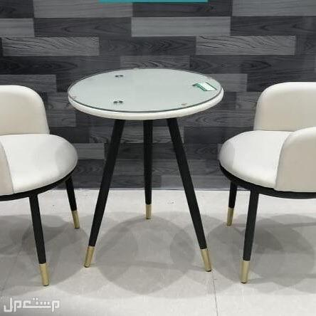 طقم كرسيين وطاولة
