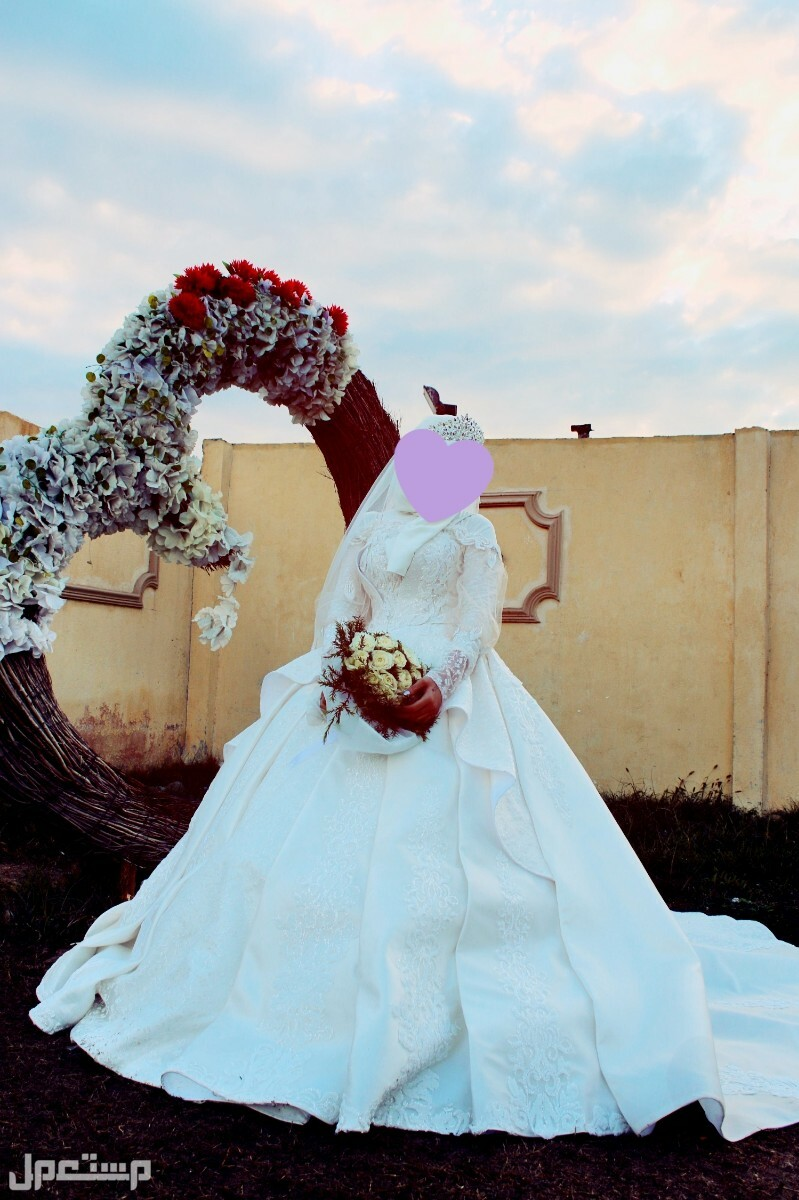 فستان زفاف ملكي❤️
