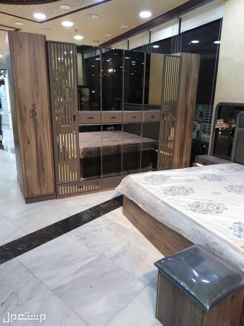 غرفة نوم كلاسيك مودرن موديل جديد خشب قوي مع مرتبة هدية