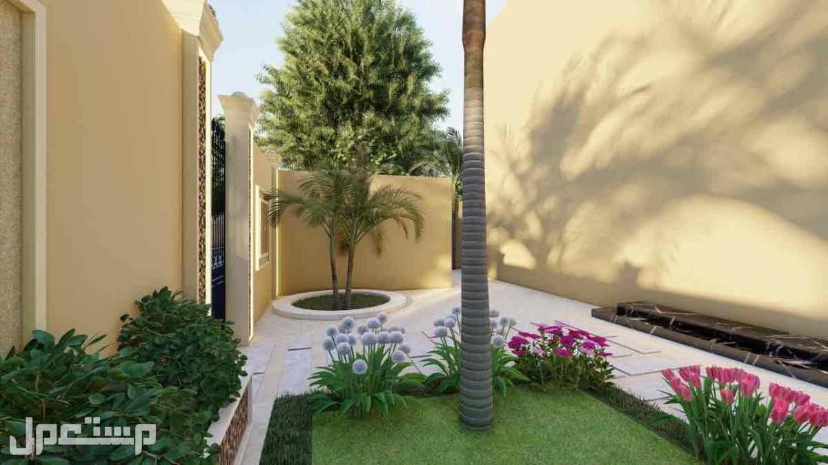 تصميم حدائق 3d فلل واجهات