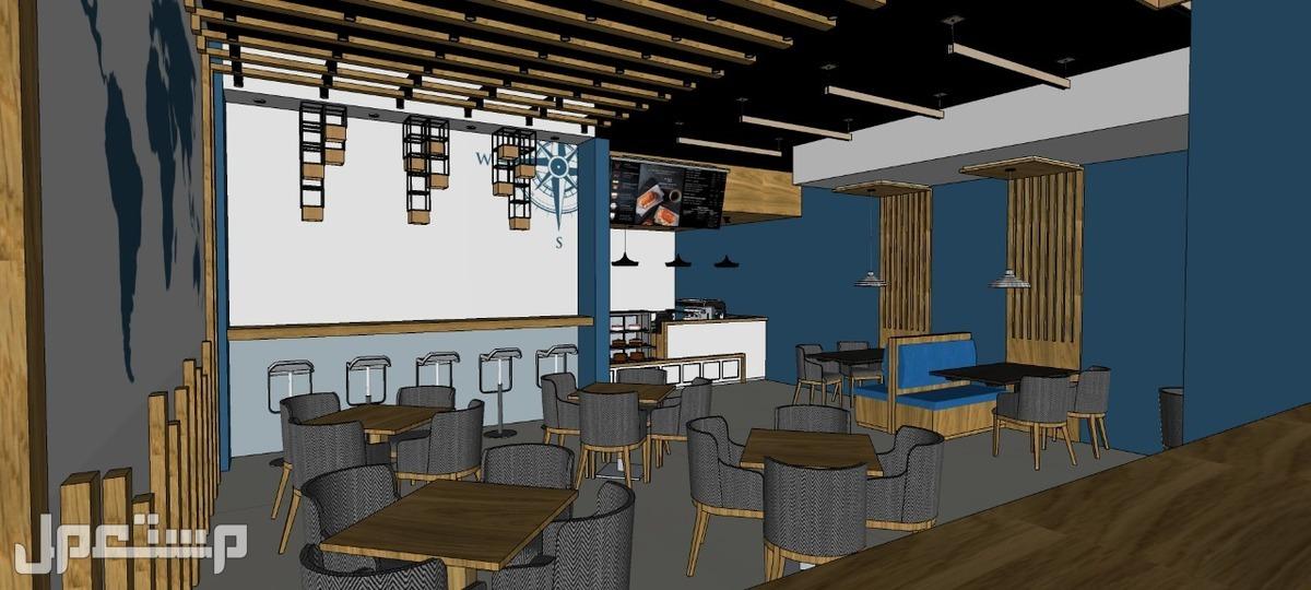 مؤسسه مقاولات مطاعم تنفيذ مطاعم محلات ديكورات