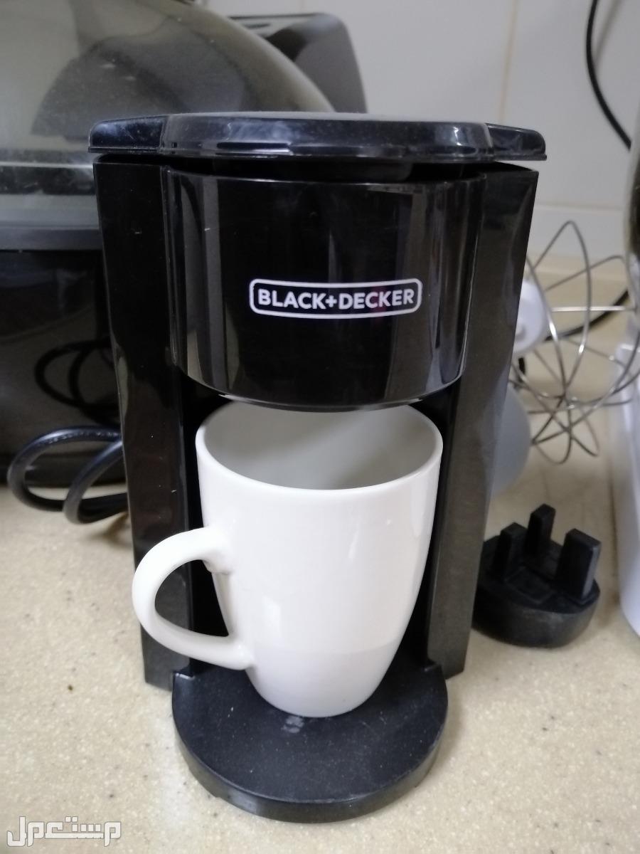 أجهزة كهربائية متنوعة جديده وشبه جديده استخدام لمدة شهر واحد فقط لا غير مكينة قهوه كوفي مكتبيه