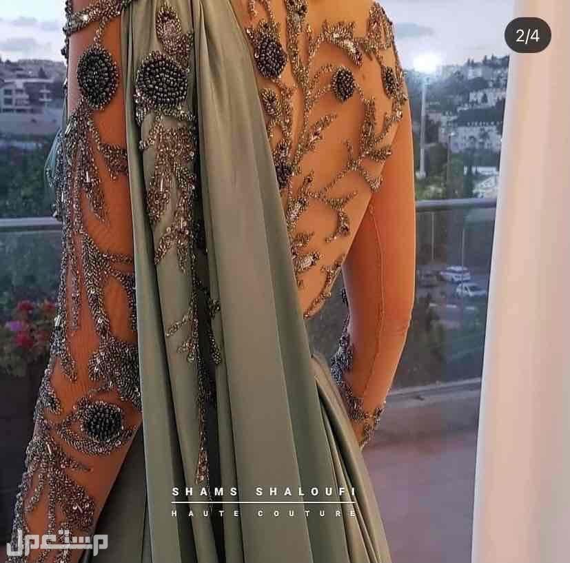 فستان جديد نفس موديل صوره ولون والقماش
