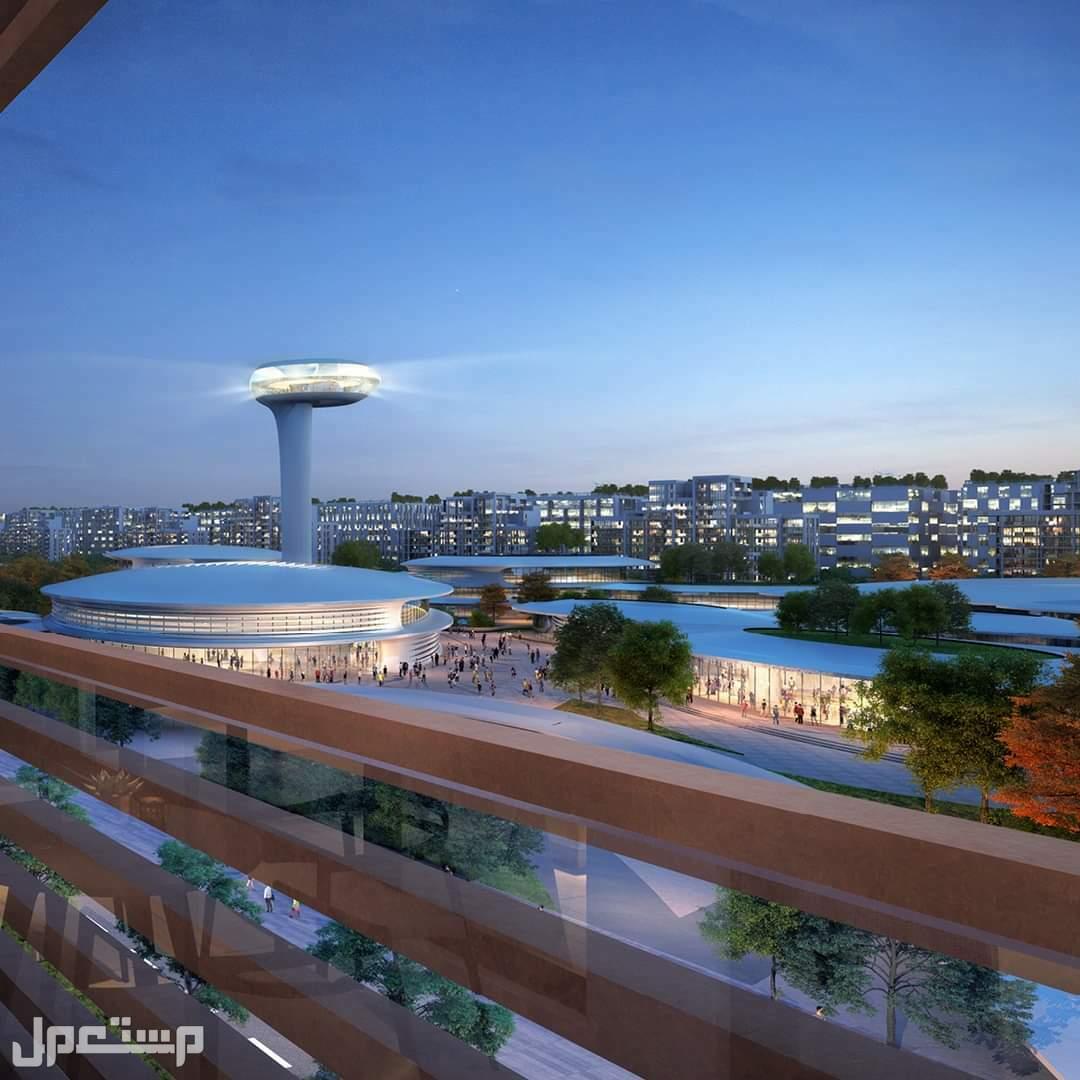 تملك شقتك للسكن أو الاستثمار بمقدم 10% بداون تاون الشارقة نافورة تتوسط مشروع الجادة