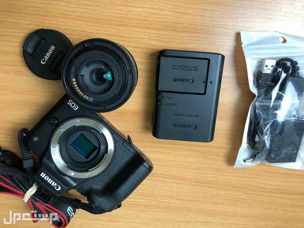 كاميرا كانون Canon M50 Mark I نظيفة جدا تنفع للبثوث بدون قطعة تسجيل