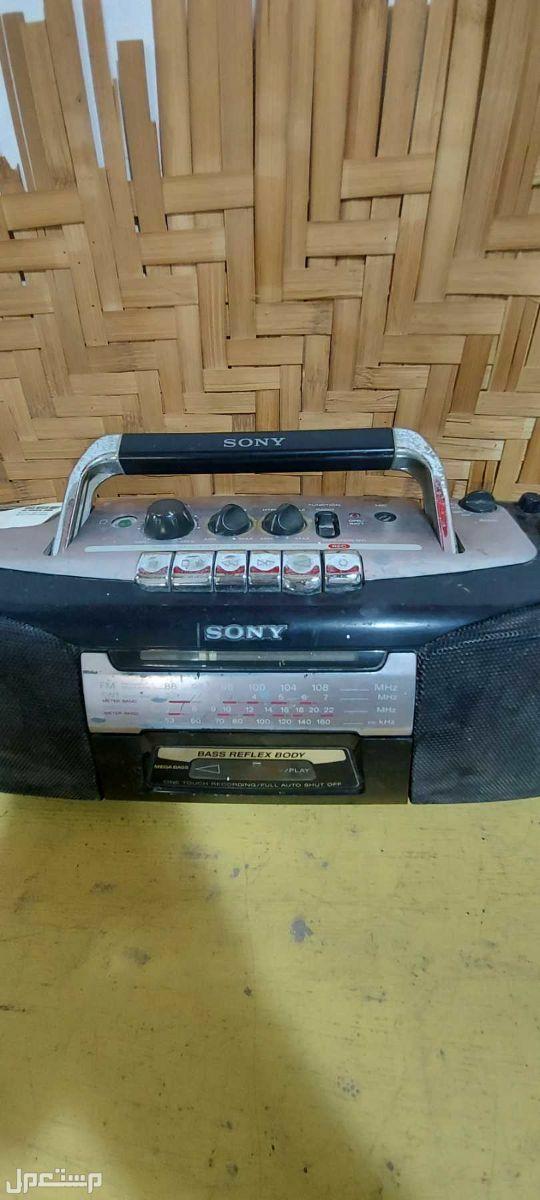 راديو ومسجل سوني تحفة قديمه