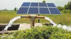 نقوم بتنفيذ التالي بالطاقه الشمسية