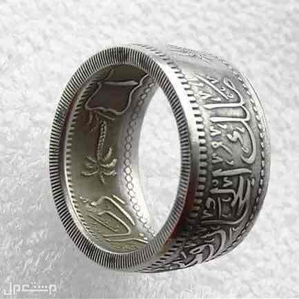 ريال هاشمي ونجد والحجاز على شكل خاتم