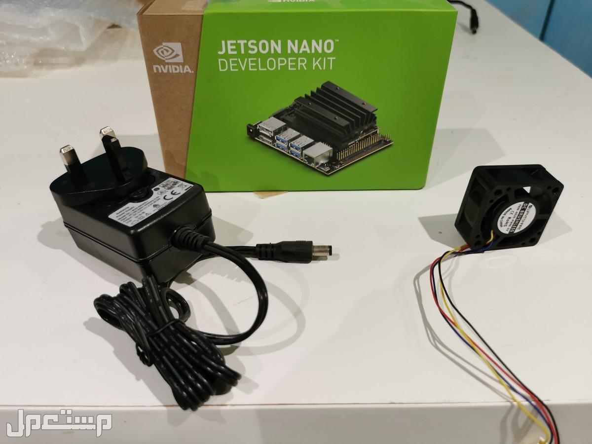 NVIDIA Jetson nano  + محول + مروحة  جديد