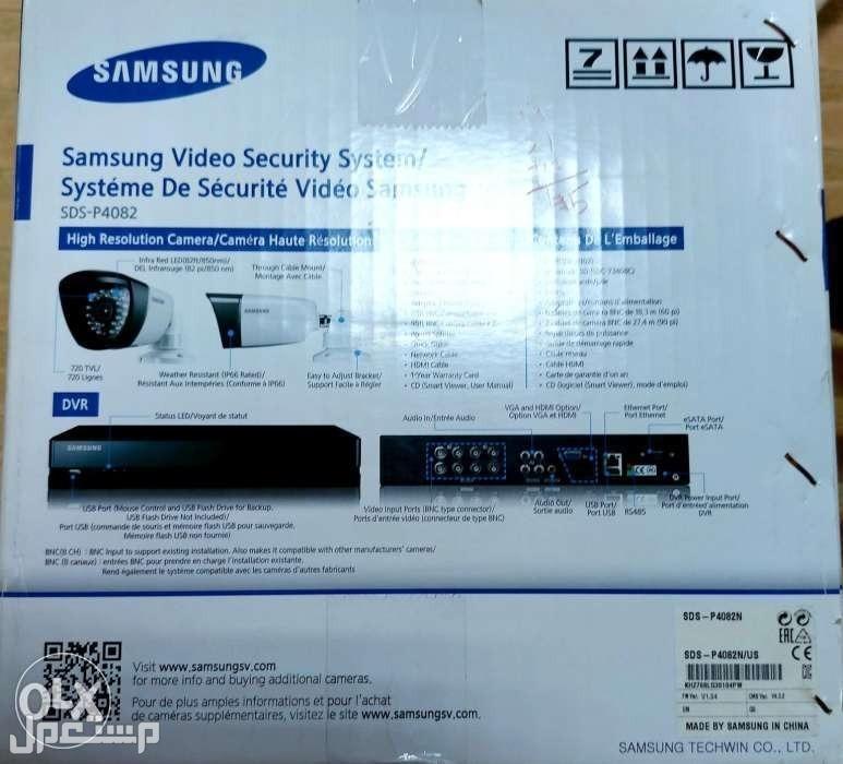 للبيع 8كاميرات مراقبة سامسونج جديد غيرمستخدم