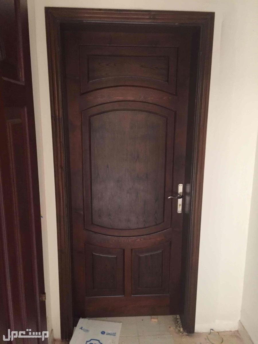 معلم دهاناتالخشب جميع أنواعها أبواب غرف نوم