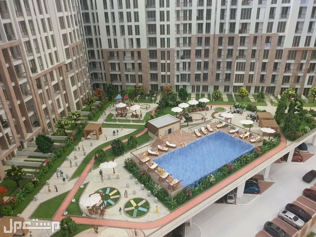 شقق للبيع في دبي بالتقسيط وعائد مضمون 7%