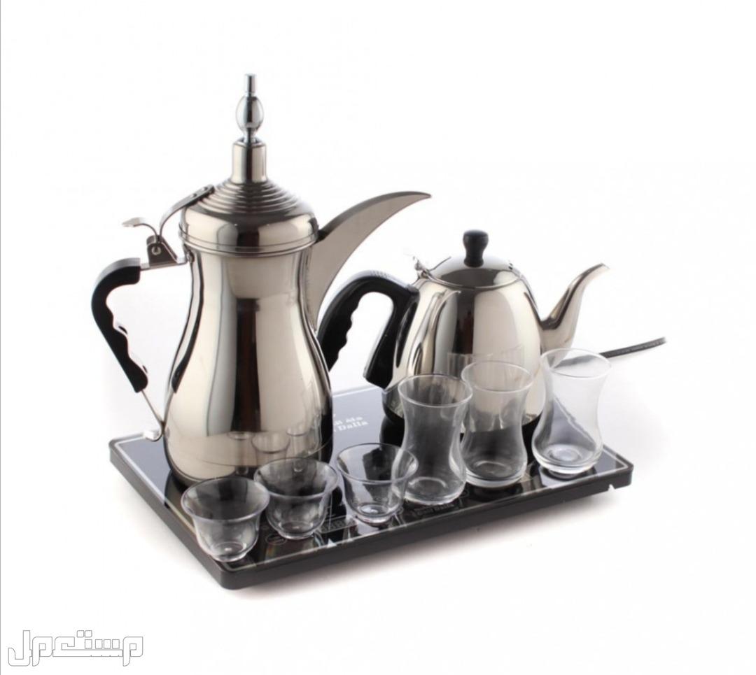 طقم دلة الخيلج للشاي والقهوة