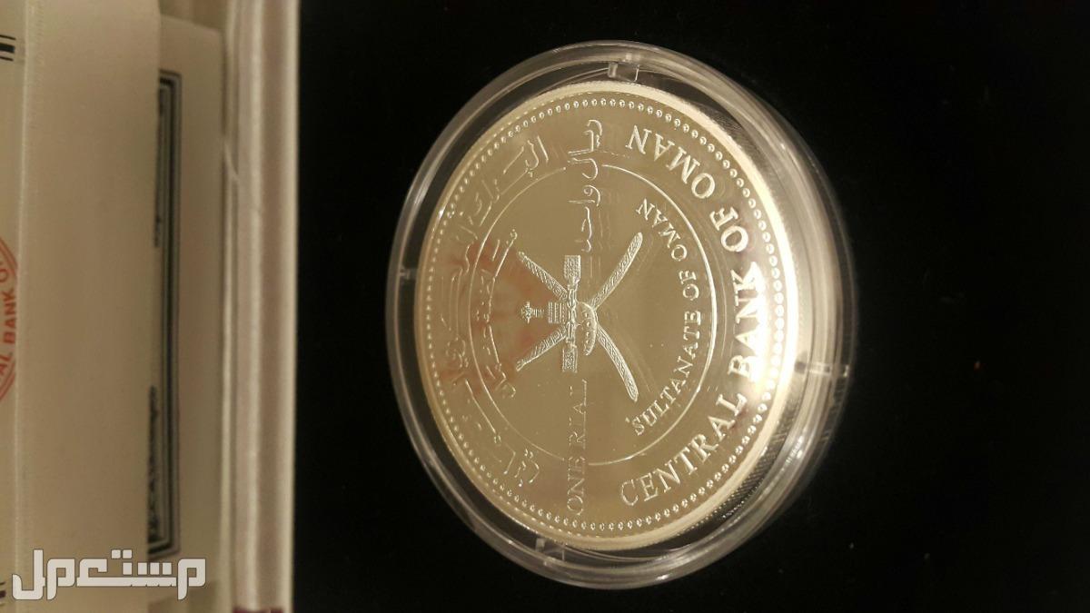 ميدالية فضة بروف عمانية