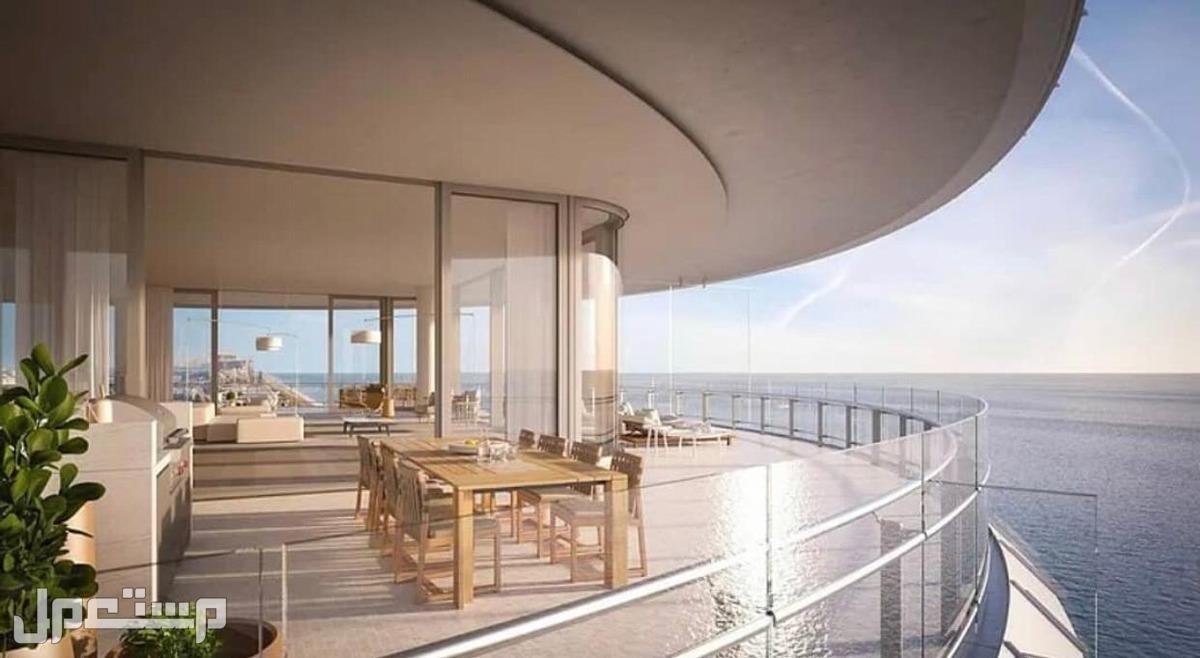 استمتع بالاستثمار العقاري الامن بمنتجع المهرة على البحر مباشرة إطلالة أخري للوحدات الفندقية على البحر