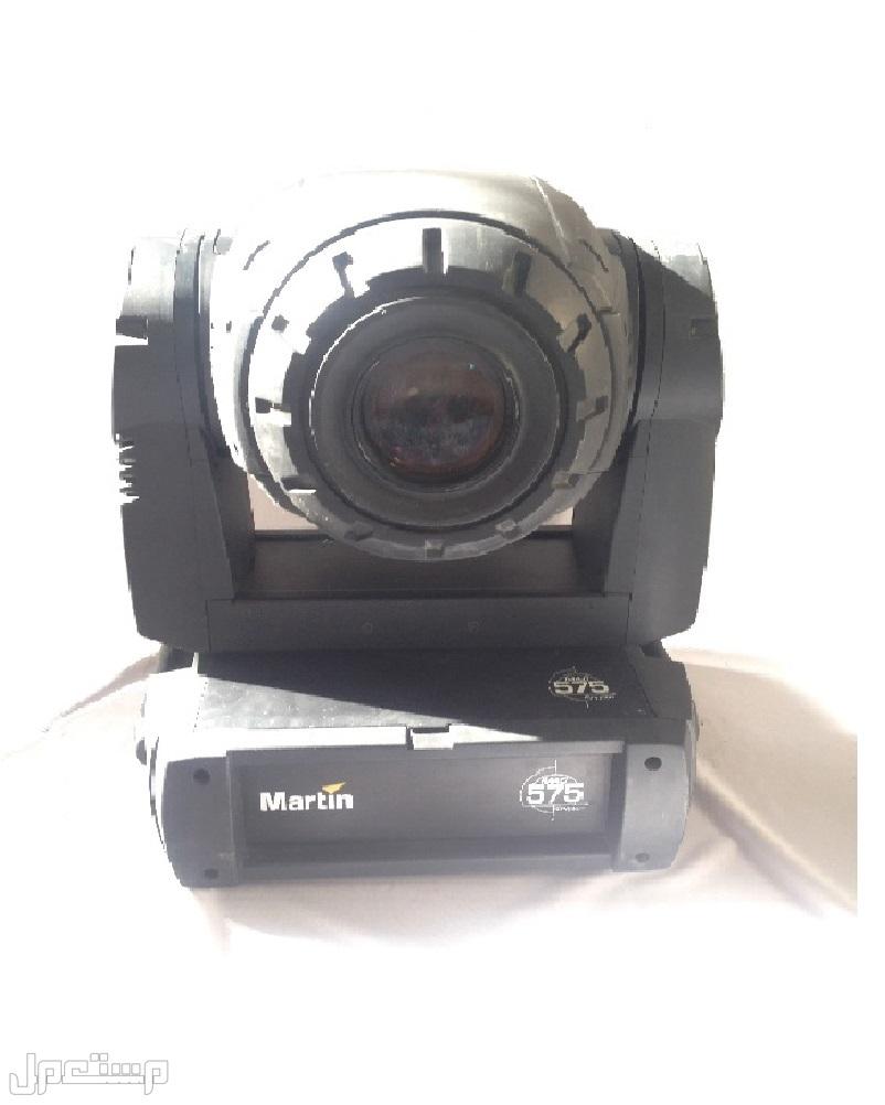 أجهزة إضاءة مستعملة ذات رؤوس متحركة MOVING HEADS نوع MARTIN MAC575